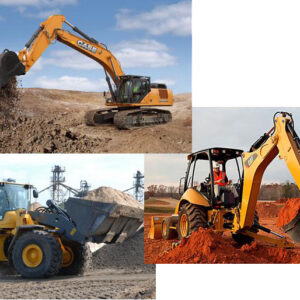 Escavatore-Pala-Terna